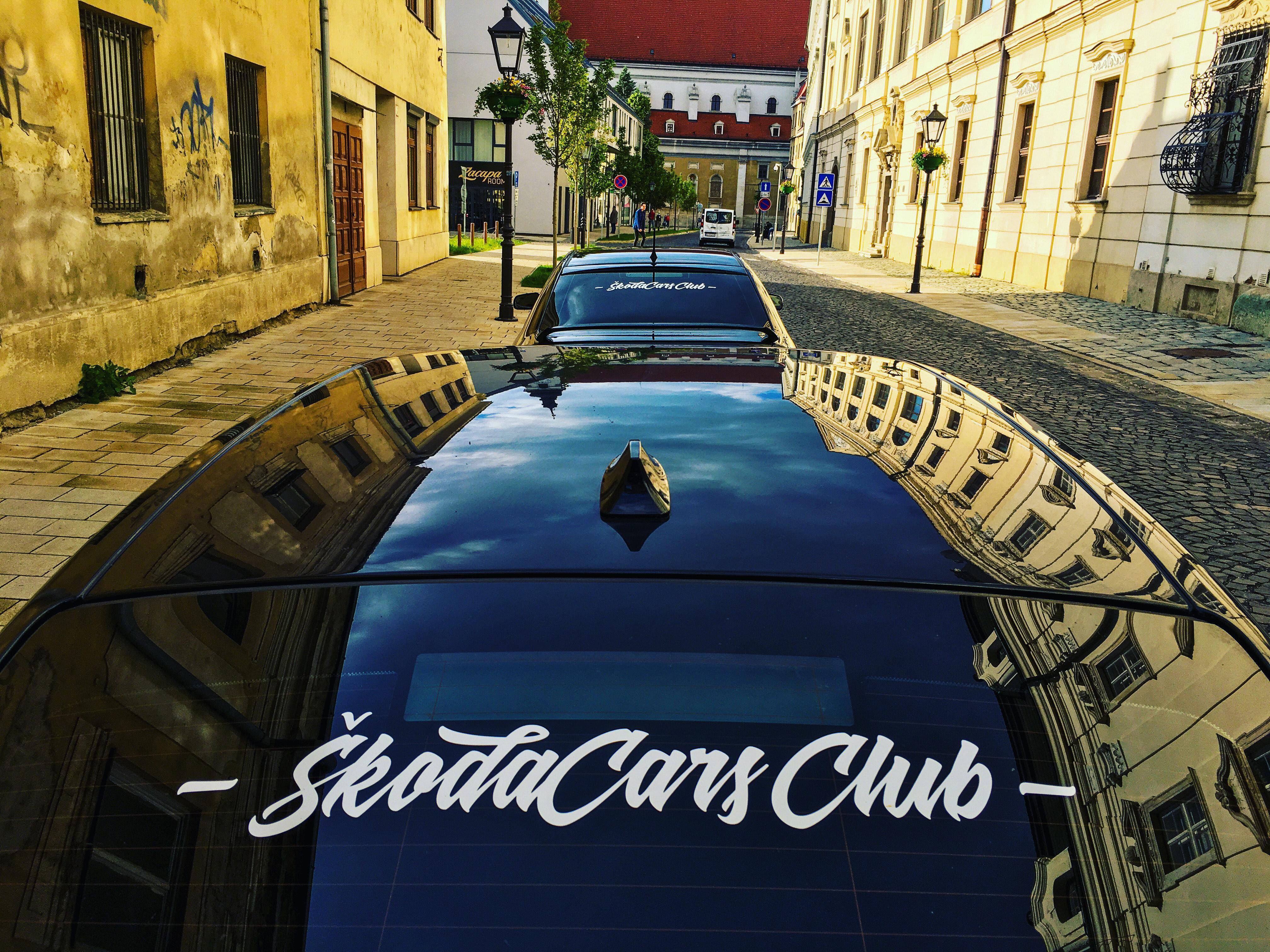 Nálepky ŠkodaCars Club