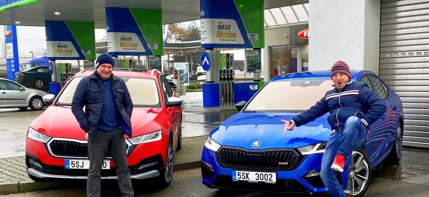 Test Škoda Octavia RS vs Škoda Octavia Scout odhalí, ktorá je najuniverzálnejšia Octavia