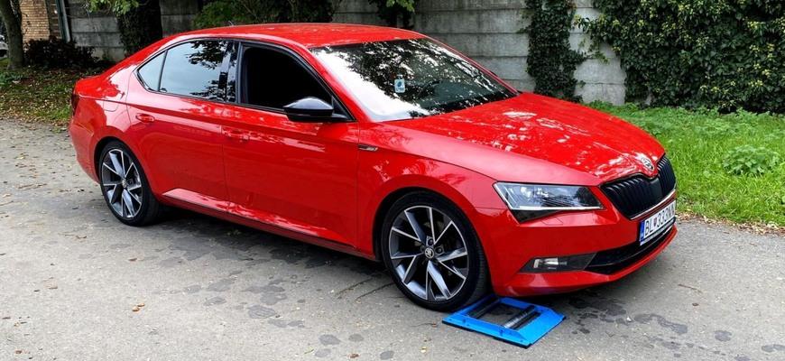 Škoda Superb III 4×4 test