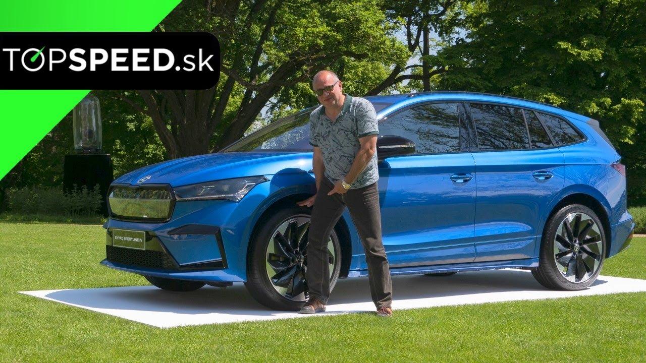 Test Škoda Enyaq Sportline 80X – pohon oboch náprav a kvapky športovosti