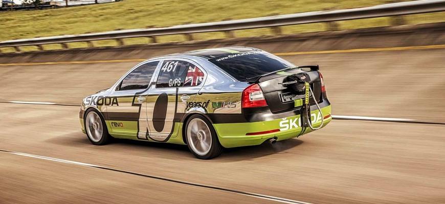 Najrýchlejšia Škoda Octavia RS na svete si pripomína rekord z Bonneville. Dodnes je platný