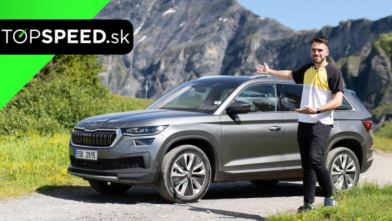 Prvá Jazda Škoda Kodiaq Facelift 2021 – skúsili sme 2.0 TDI a 2.0 TSI